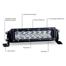 """Ridge Ryder 7.5"""" LED Driving Light Bar 30W with harness, , scanz_hi-res"""