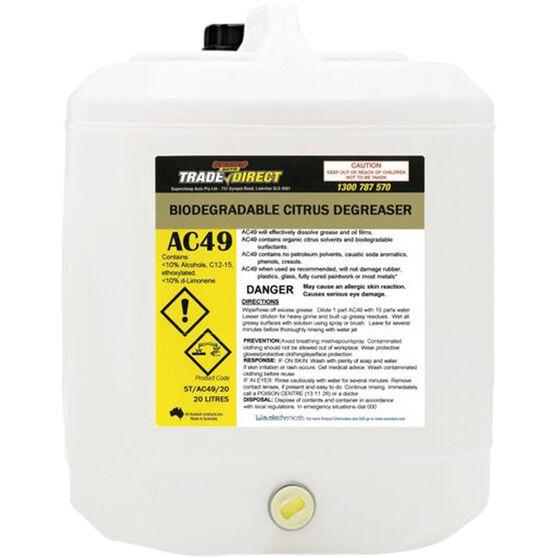 Trade Direct Water Based Citrus Biodegradable Degreaser - 20 Litre, , scanz_hi-res