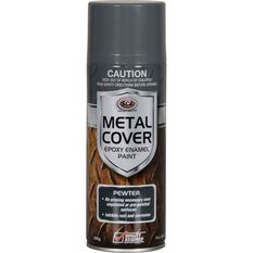 SCA Metal Cover Enamel Rust Paint - Pewter, 300g, , scanz_hi-res