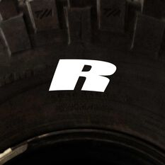 Tire Stickers - Letter R, , scanz_hi-res