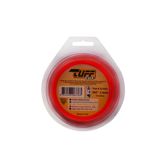 Trimmer Line - Orange, 2.4mm x 12m, , scanz_hi-res