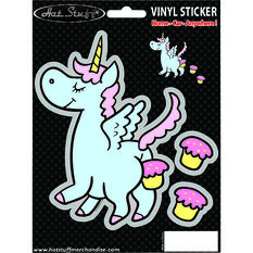 Hot Stuff Sticker - Unicorn Fart, Vinyl, , scanz_hi-res