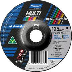 Norton Multi Material UTG Wheel - 125mm, , scanz_hi-res