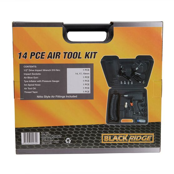 Blackridge Air Tool Kit - 14 Piece, , scanz_hi-res