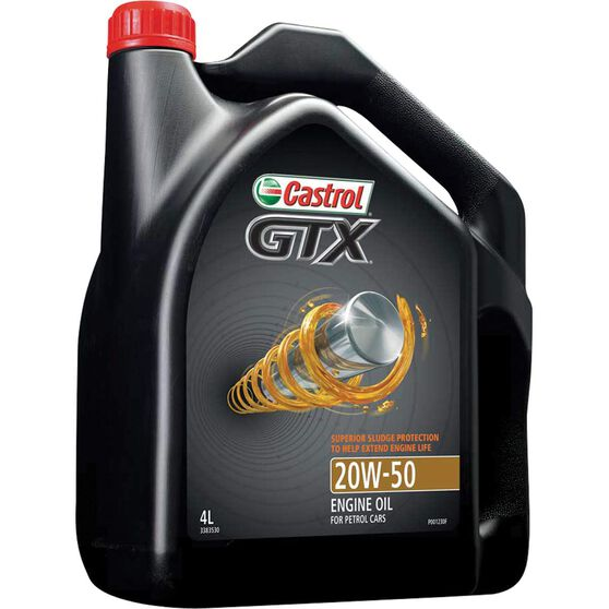 Castrol GTX Engine Oil - 20W-50, 4 Litre, , scanz_hi-res