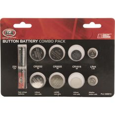 Button Battery Combo Pack - 10 Pack Assorted, , scanz_hi-res