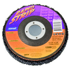 Norton Bear Te x  Rapid Strip Disc, E x tra Coarse - 115mm  x  22mm, , scanz_hi-res