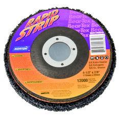 Norton Bear Te x  Rapid Strip Disc, E x tra Coarse - 115mm  x  22mm, , scanz_hi-res