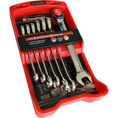 ToolPRO Ratchet Spanner Set SAE 7 Piece, , scanz_hi-res