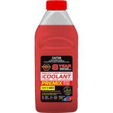 Penrite Red OEM Coolant Premix  1 Litre, , scanz_hi-res