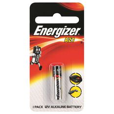 Speciality Alkaline Battery - A27, 1 Pack, , scanz_hi-res