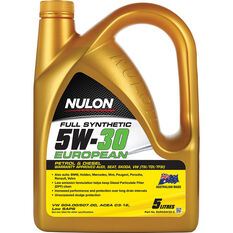 Nulon Full Synthetic European Engine Oil 5W-30 5 Litre, , scanz_hi-res