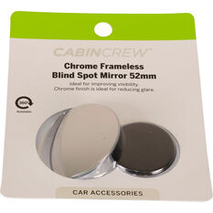 Cabin Crew Blind Spot Mirror - Chrome 52mm, , scanz_hi-res