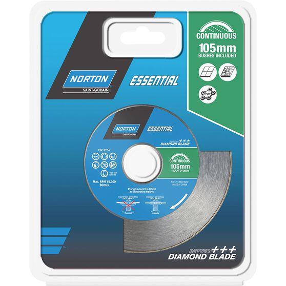 Diamond Blade - Continuous 105mm, , scanz_hi-res