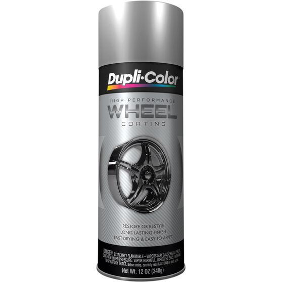 Dupli-Color Aerosol Paint - Wheel Coating, Silver, 340g, , scanz_hi-res