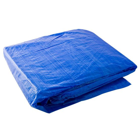 SCA Light Duty Poly Tarp - 3.6m X 6.0m (12 X 20), 80GSM, Blue, , scanz_hi-res