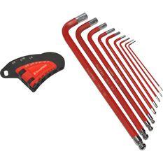 Hex Key Set - Long Arm, Imperial, 9 Piece, , scanz_hi-res
