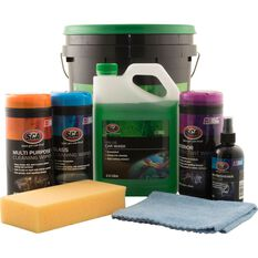 SCA Value Detail Wash Kit - 8 Pieces, , scanz_hi-res