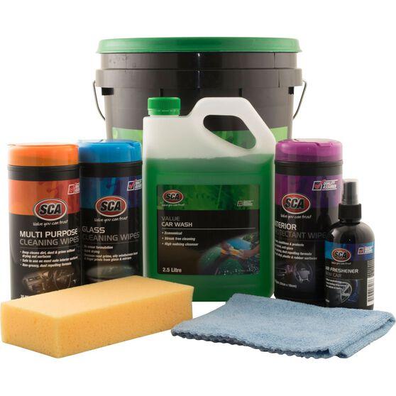 SCA Value Detail Wash Kit - 8 Pieces, , scanz_hi-res