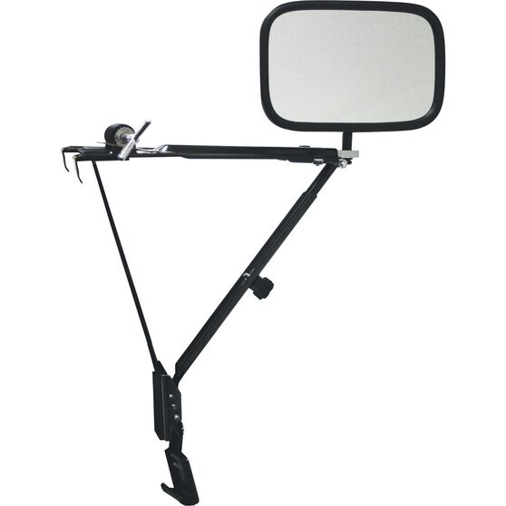Towing Mirror - Door Mount, Pro, , scanz_hi-res