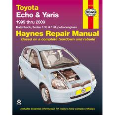 Car Manual For Toyota Echo / Yaris 1999-2009, , scanz_hi-res