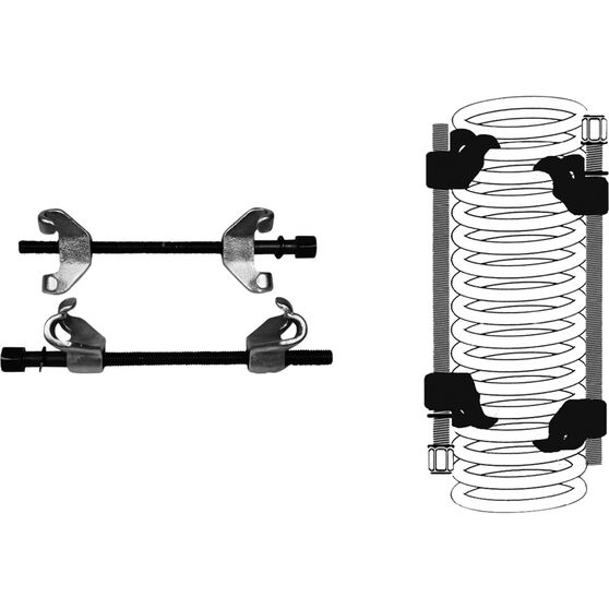ToolPRO Coil Spring Compressor - Pair, , scanz_hi-res