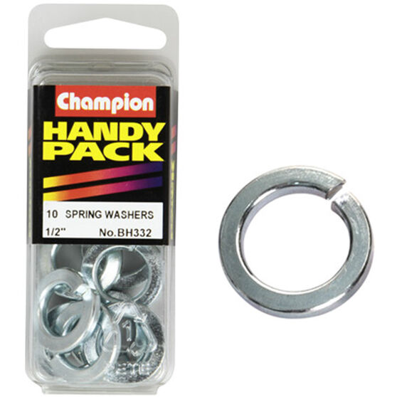 Champion Spring Washers - 1 / 2inch, BH332, Handy Pack, , scanz_hi-res