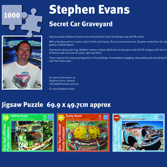 Jigsaw Puzzle 1000pc Evans Rusty Ford, , scanz_hi-res