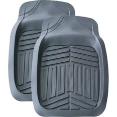 Ridge Ryder Deep Dish Car Floor Mats - Grey, Front Pair, , scanz_hi-res