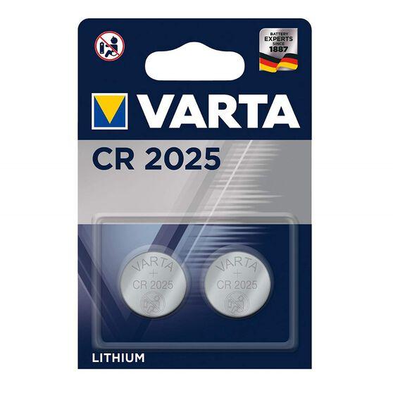 Varta Lithium Coin Battery - CR2025, 2 Pack, , scanz_hi-res