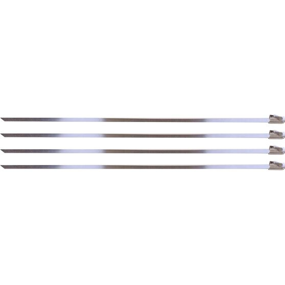 Locking Ties Stainless Steel 8 Set 4, , scanz_hi-res