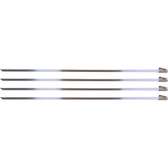 Locking Ties Stainless Steel 8 Set 4, , scanz_hi-res