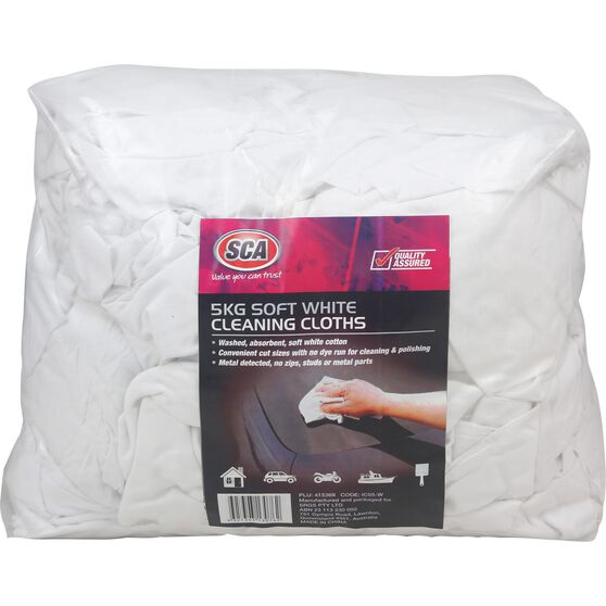 SCA Industrial White Cleaning Cloth 5kg, , scanz_hi-res