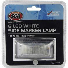 Side Marker Lamp - LED, White, 10-30 Volt, , scanz_hi-res