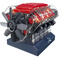 Stemnex - V8 Model Engine, build kit, , scanz_hi-res