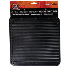SCA Rubber Trailer Mudguards - Pair, , scanz_hi-res