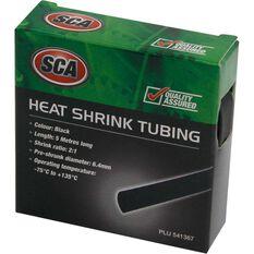 SCA Heat Shrink - Black, 5m, 3.2mm, , scanz_hi-res