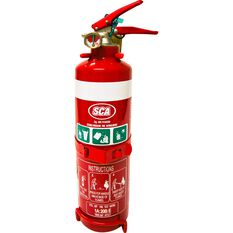 SCA Fire Extinguisher - 1kg, Home and Vehicle, Metal Mounting Bracket, , scanz_hi-res