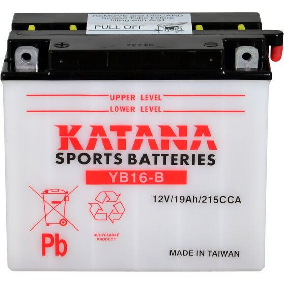 Katana Powersports Battery YB16B, , scanz_hi-res
