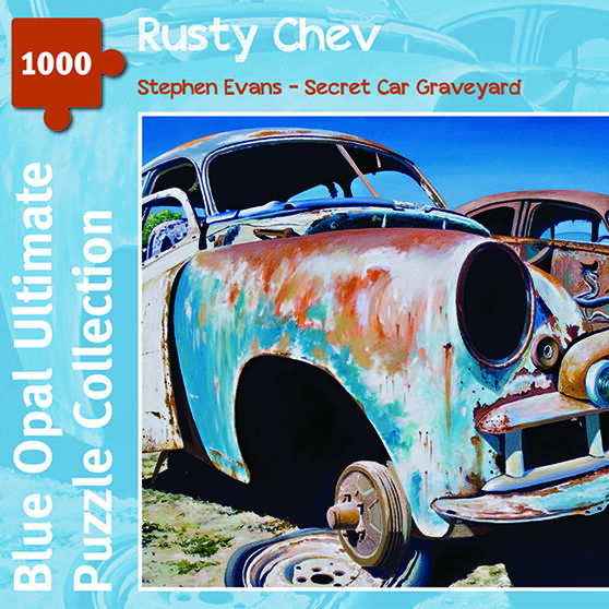 Jigsaw Puzzle 1000pc Evans Rusty Chev, , scanz_hi-res