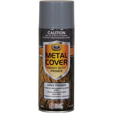 SCA Metal Cover Enamel Rust Paint Heavy Duty Grey Primer 300g, , scanz_hi-res