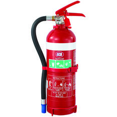 Fire Extinguisher - 2kg, With Hose, Metal Mounting Bracket, , scanz_hi-res