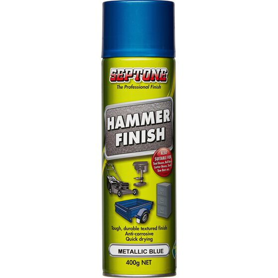 Septone Aerosol Paint Hammer Finish - Metallic Blue, 400g, , scanz_hi-res