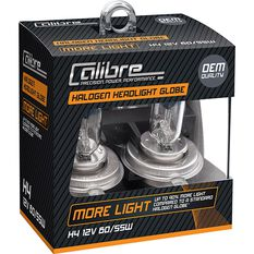 Calibre Headlight Globe Plus 90 - H4, 12V, 60 / 55W, , scanz_hi-res