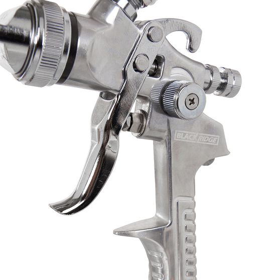 Air Spray Gun Gravity Feed - 600mL, , scanz_hi-res