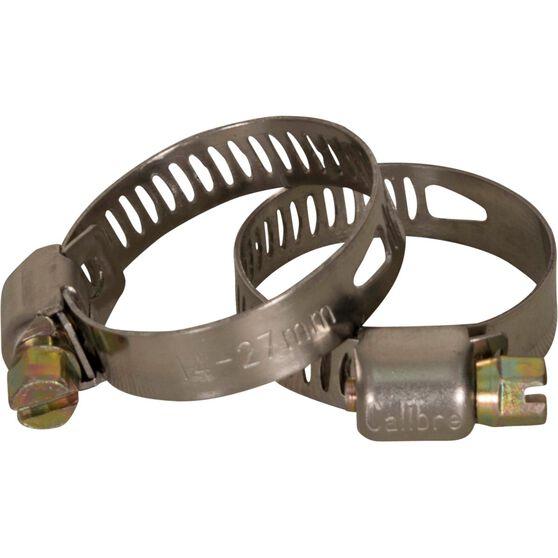 Calibre Hose Clamps - 14-27mm, 2 Pieces, , scanz_hi-res
