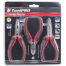 ToolPRO Mini Plier Set - 3 Pieces, , scanz_hi-res