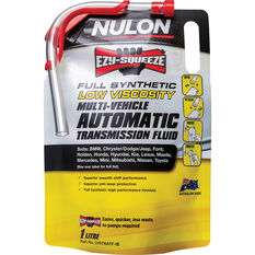 Nulon EZY-SQUEEZE Low Viscosity Multi-Vehicle Automatic Transmission Fluid 1 Litre, , scanz_hi-res