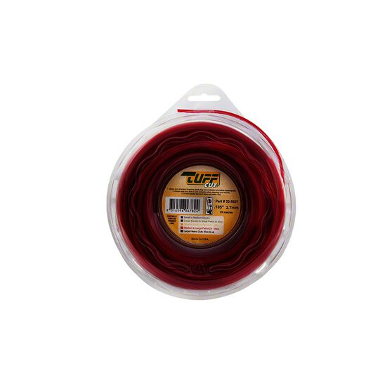 NGK Tuff Cut Trimmer Line - Red, 2.7mm X 35m, , scanz_hi-res