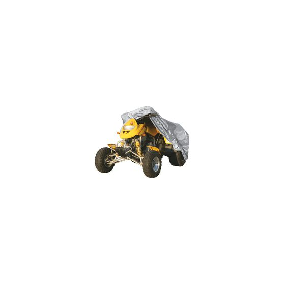 CoverALL ATV Cover Silver Protection - Water Resistant, Suits Medium ATV, , scanz_hi-res